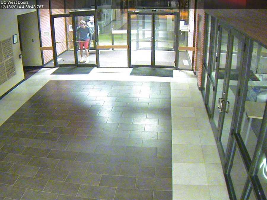 Police are trying to identify several people who have been caught on camera breaking into the Oklahoma Christian University book store multiple times.