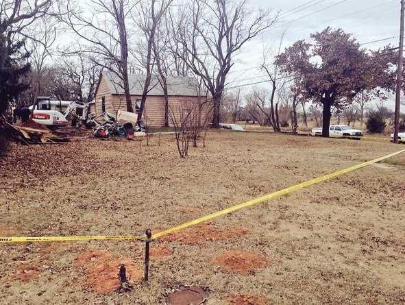 Authorities are investigating a cold case in Jones Wednesday.