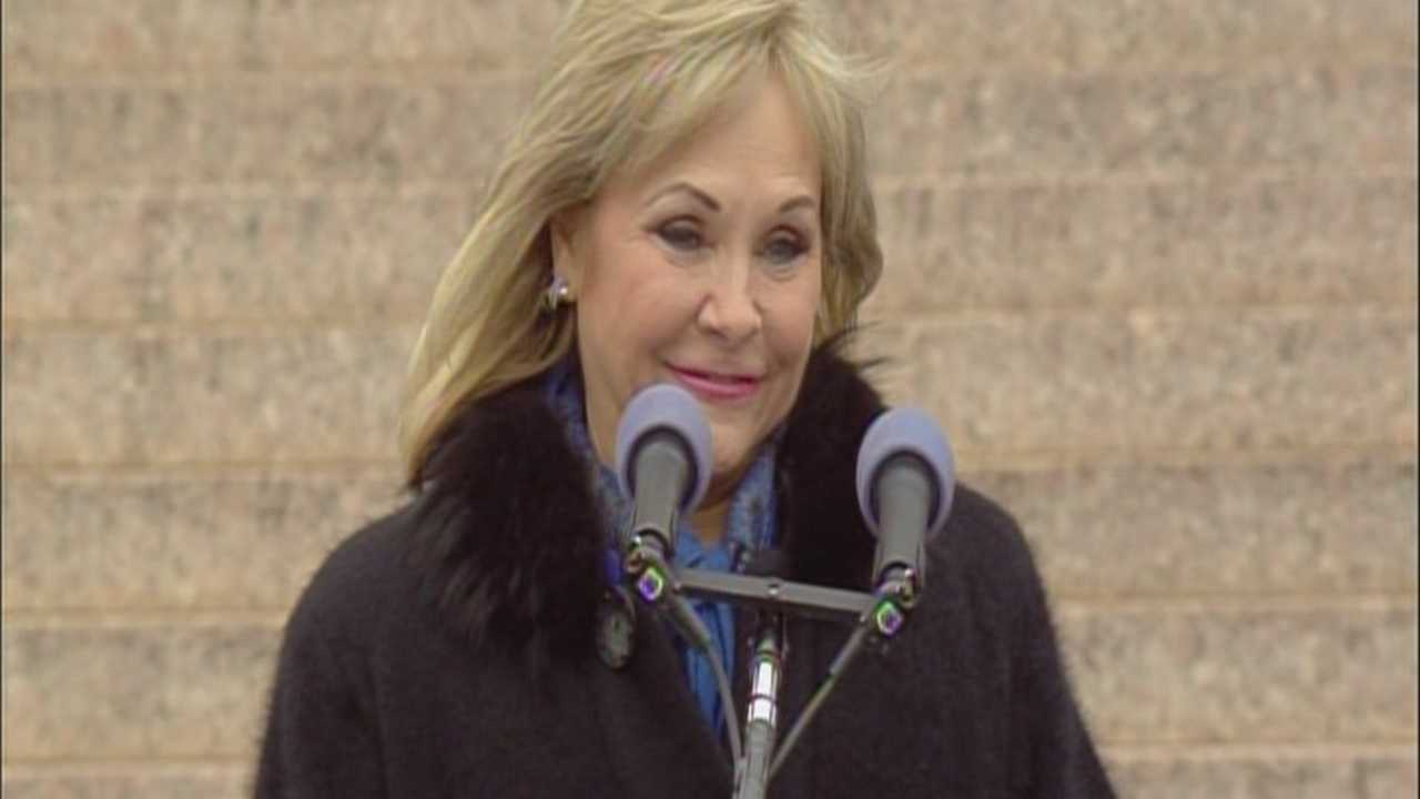 Watch the entire ceremony as Gov. Mary Fallin was inaugurated on Monday for her second term as Oklahoma's governor.