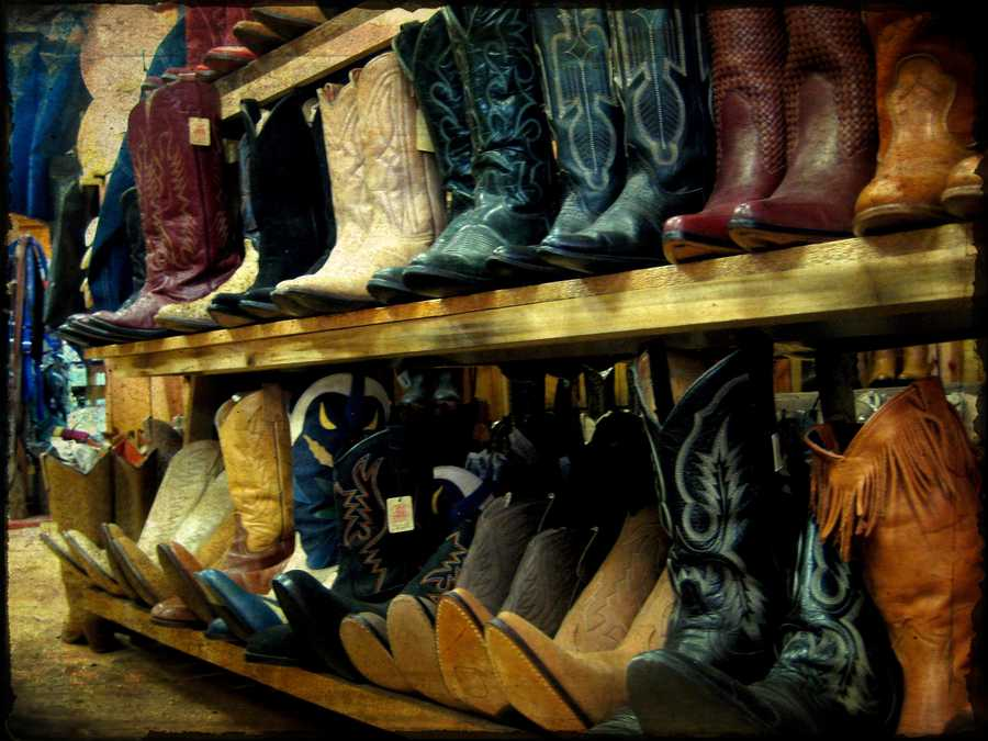 8. Cowboy BootsWhat it means to others: A sturdy shoe you wear when you're working on a ranch.What it means to Oklahomans: You have a work pair, a dress pair, a pair for lounging around the house, and even a pair for when you're going to bed.