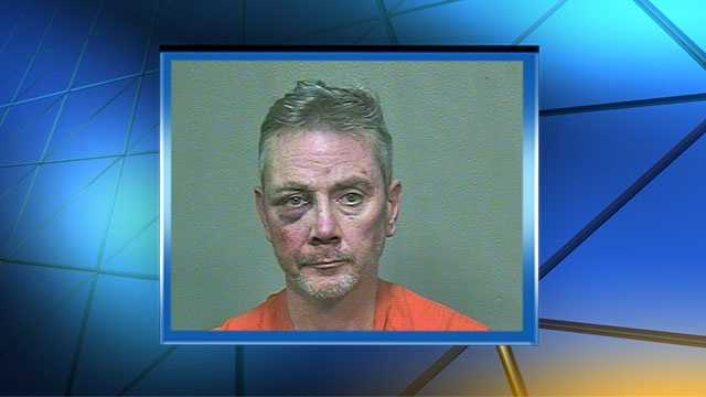 Maguire was booked into Oklahoma County Jail on complaints of indecent exposure and public drunkenness.