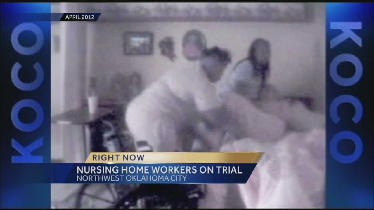 The nursing home workers were accused of abuse of a patient.