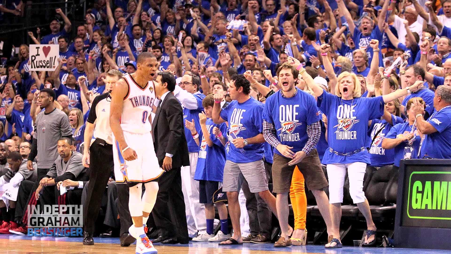 Russell Westbrook talks about Oklahoma City, Kevin Durant and his feelings on the media this week on In Depth with Graham Bessinger.