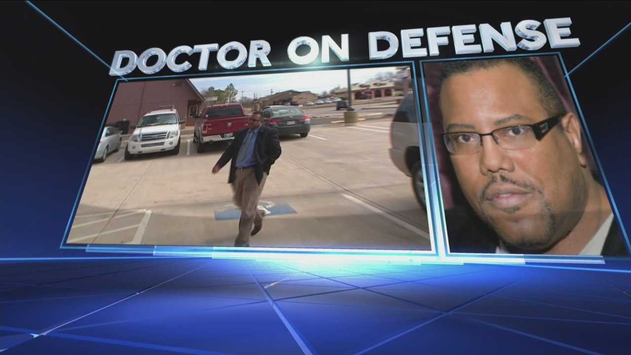 Dr. Harvey Jenkins is accused of running a 'pill mill' out of his southwest Oklahoma City office.