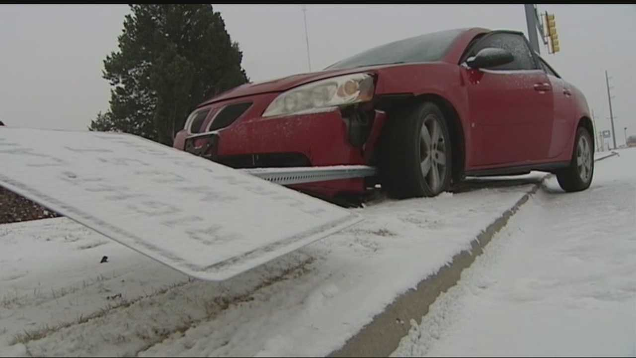ODOT officials said that since Friday, they've responded to 20 different locations on metro highways to repair damage.