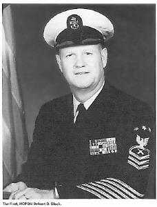 Master Chief Petty Officer of the Navy, Delbert Black