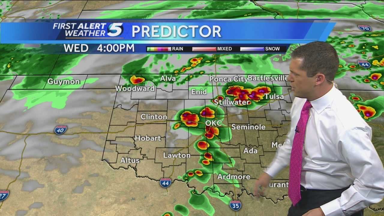 Chief Meteorologist Damon Lane with the latest First Alert Forecast.