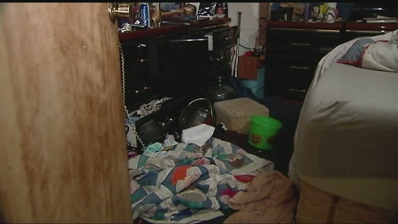 After thieves struck a southeast Oklahoma City home, a single mother is left picking up the pieces.