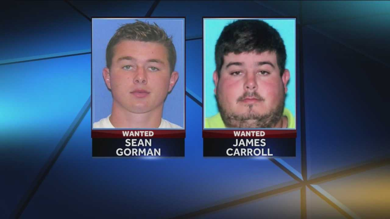 Logan County deputies are searching for men in connection with a roofing scam in Marshall.