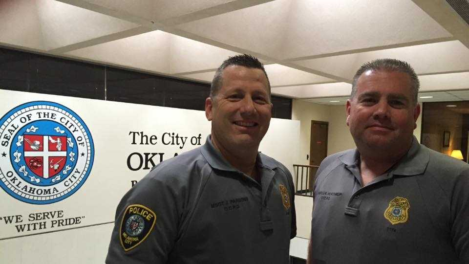 Oklahoma City police MSgts Parsons and Northrup