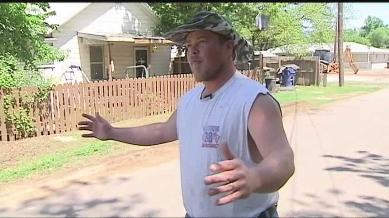 Police were able to catch the suspect thanks to the help of a Chickasha man.