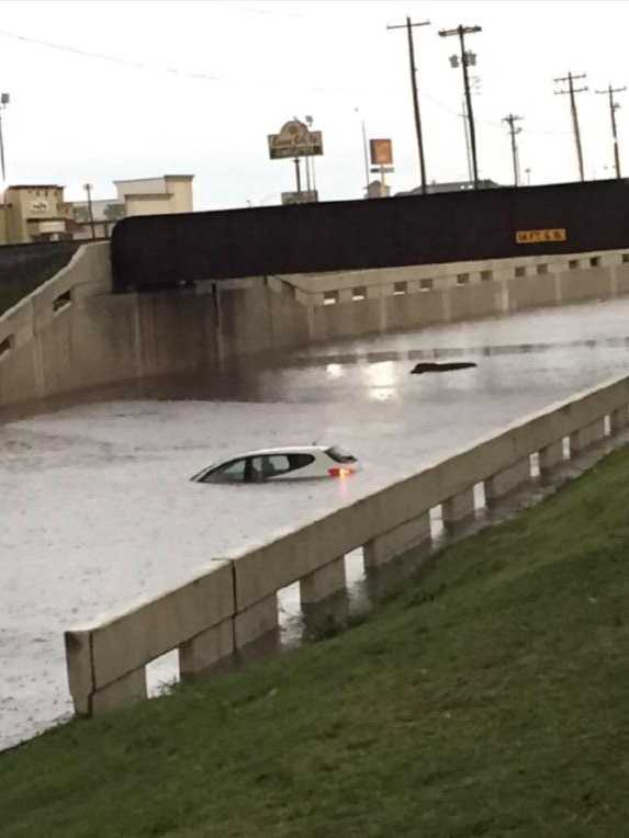 Flooding in Moore