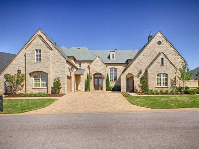If you're an avid golfer this home in a gated golf course community is perfect for you. The home features three bedrooms, five bathrooms, over 5,200 sq ft of living space, and is featured onrealtor.com.
