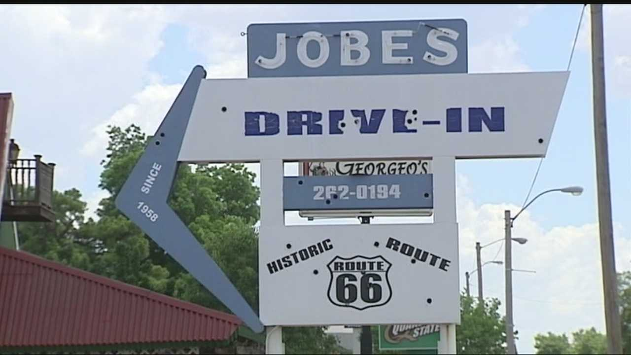 Iobe's Drive-In on Route 66 will go to the highest bidder.