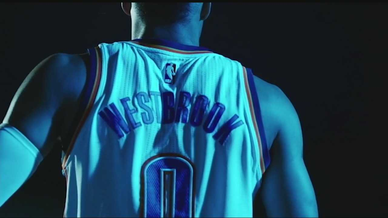 Russell Westbrook will be on the cover of the newest NBA Live video game.