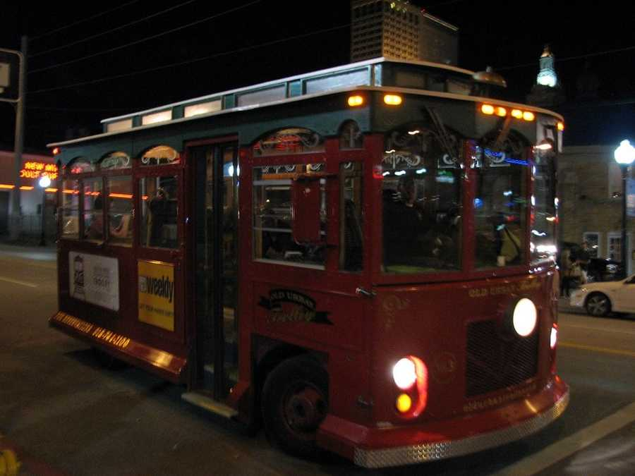 Head to the Brady District for food, drinks or entertainment, and take the trolley. Photo from Flickr by Tom Baddley.
