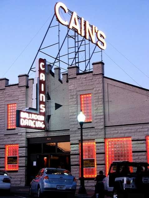 Visit the historic Cain's Ballroom for a concert. See the list of concerts at Cain's here:http://www.cainsballroom.com. Photo from Flickr by Kari Sullivan.