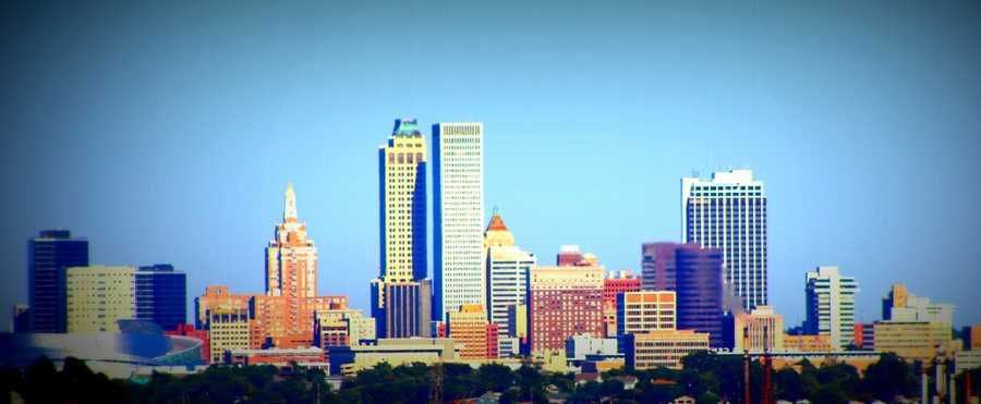 Check out the Tulsa skyline. Photo from Flickr by furfur.