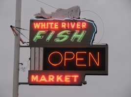 White River Fish Market has some of the best seafood in town. Photo from Flickr by Tom Baddley.