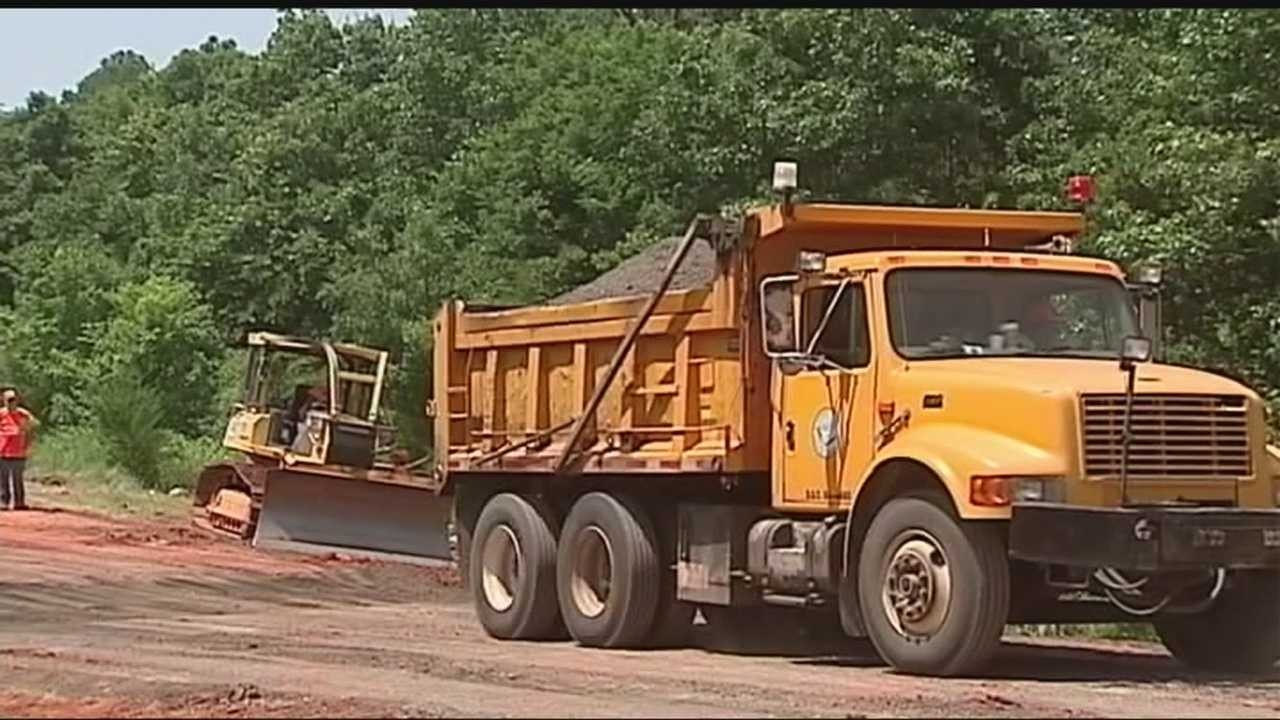 Crews with the Oklahoma Department of Transportation are scrambling to fix dozens of roads damaged by floods.