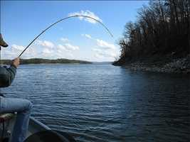 Or you can always fish on the lake. Photo from Flickr by Dan.