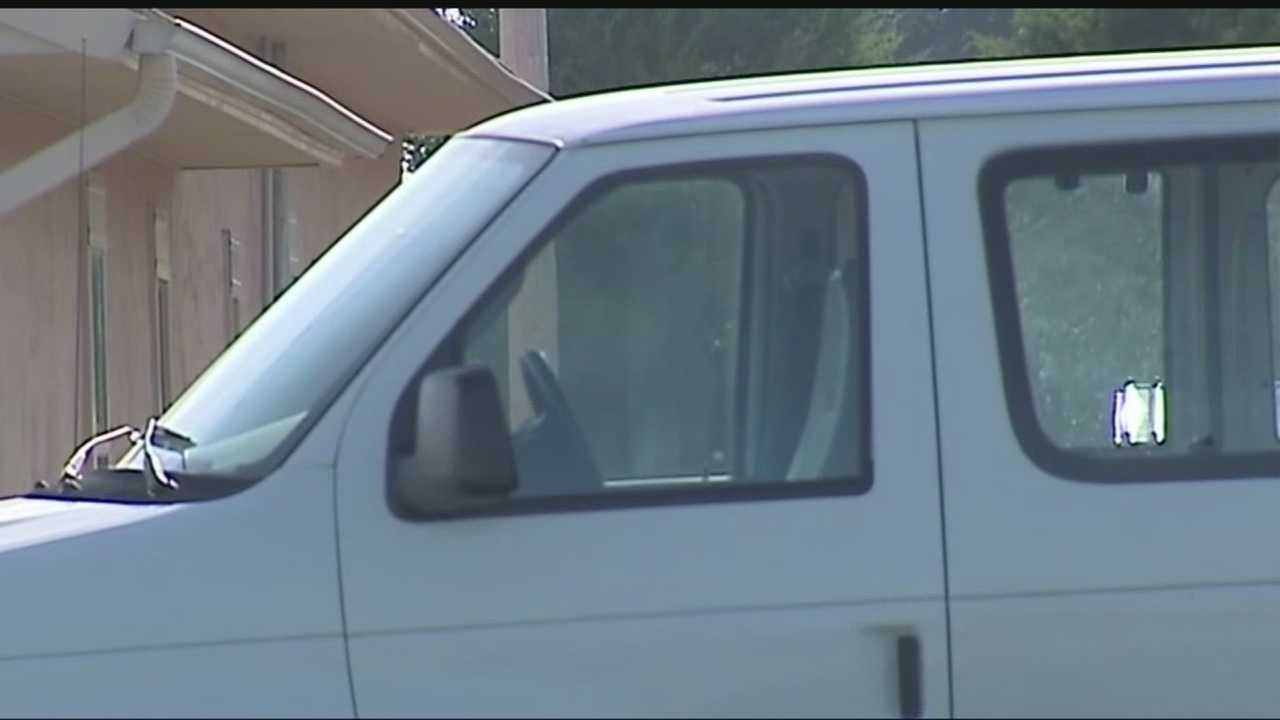 A father is accusing a metro day car of leaving his son inside a hot van after a field trip.
