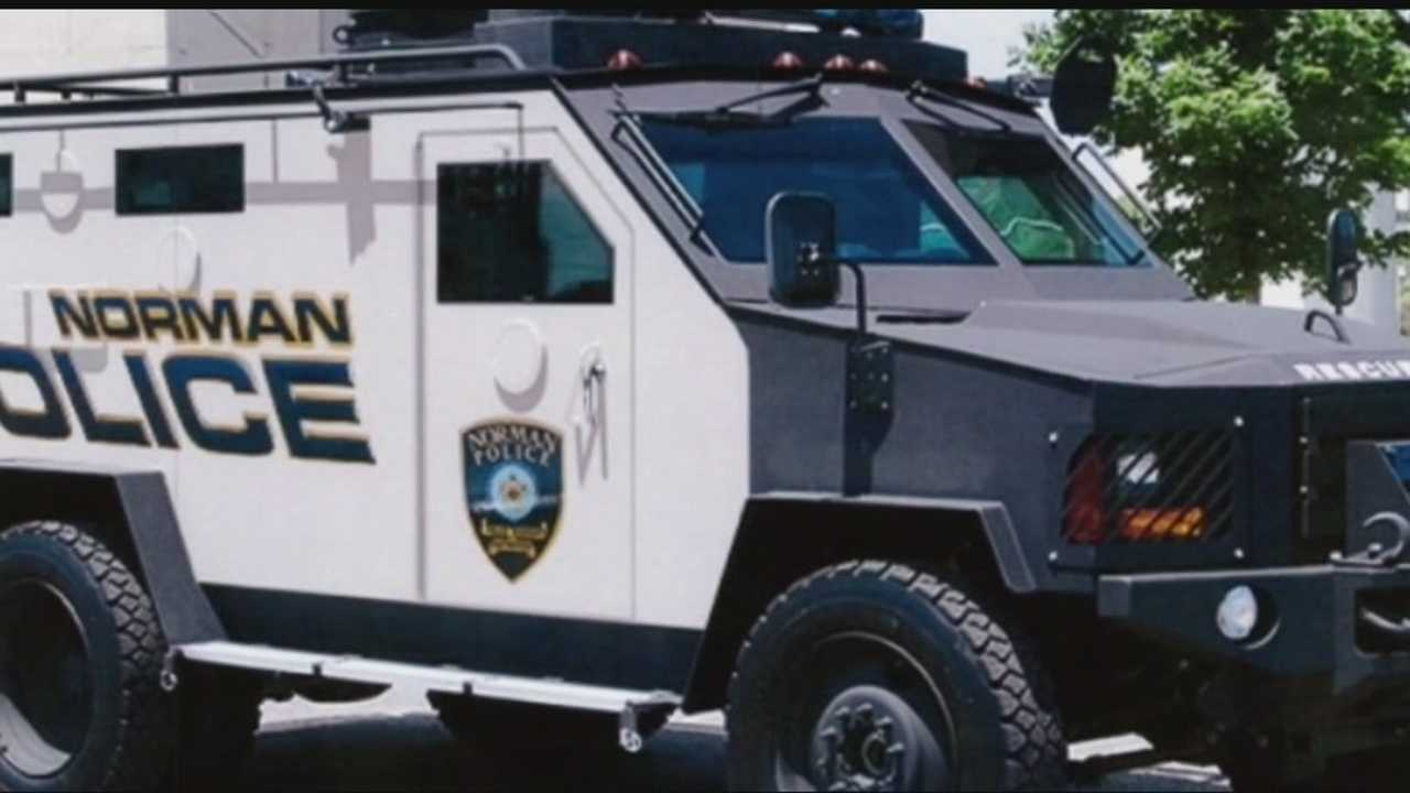 "A heavily armored vehicle called the ""Bearkat"" could soon be coming to Norman police."