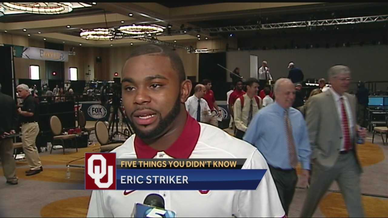 Carson Cunningham brings you 5 things you didn't know about OU linebacker Eric Striker