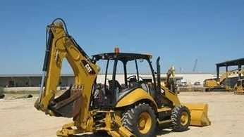 The backhoe stolen is nearly identical to the one pictured here, according to ODOT.