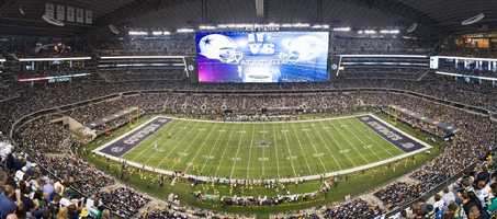 The NFL season is right around the corner and AT&T Stadium in Dallas is one of the premier stadiums in the country. Photo from Flickr by Anthony Roderman.