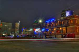 Visit the House of Blues for southern dishes and live music. Photo from Flickr by Brett Chisum.