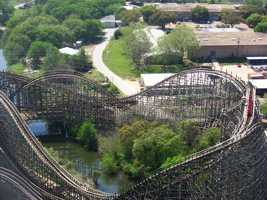 Six Flags Over Texas can satisfy your thrill-seeking desires with some giant roller coasters. Photo from Flickr by mulf.