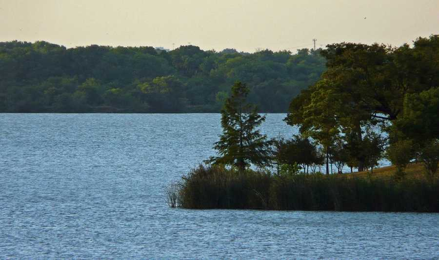 Or you could take a boat or kayak onto White Rock Lake. Photo from Flickr by Jane Nearing.