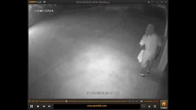 Police are looking for the people responsible for an auto burglary in southwest Oklahoma City.