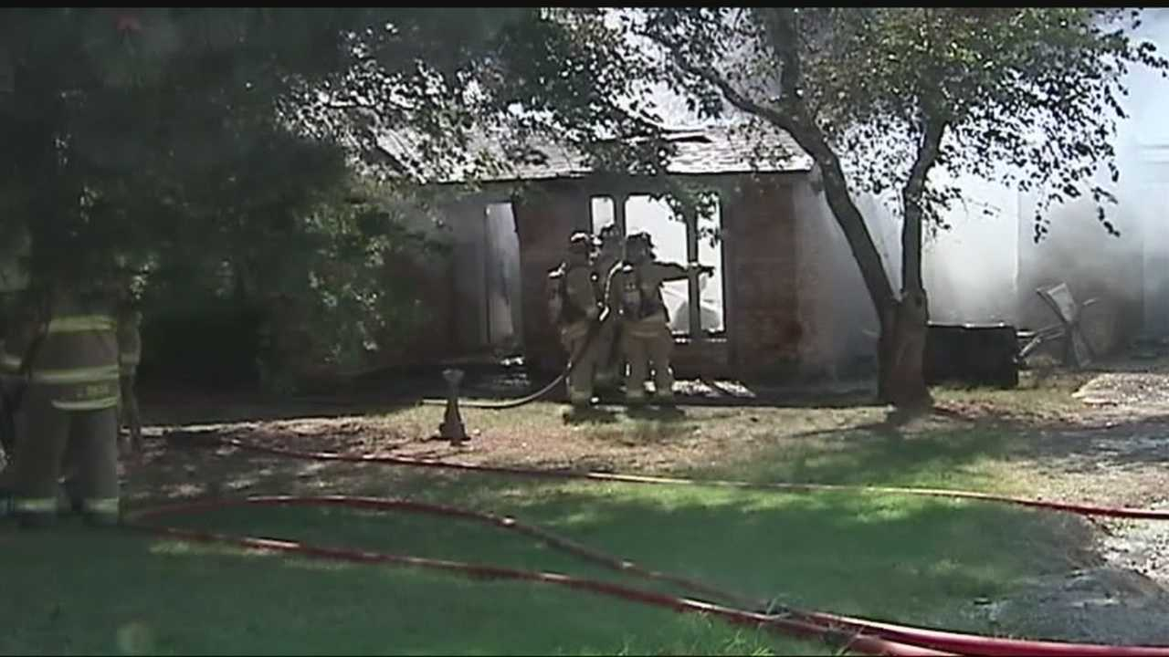 A house on Northwest 150th received heavy damage after a fire early Saturday morning. Fire crews did not have access to a fire hydrant, so they had to bring in multiple tanks of water and requested assistance from the Edmond Fire Department. The fire caused more than $200,000 worth of damage to the house and to possessions, officials said. No one was home when the fire broke out.