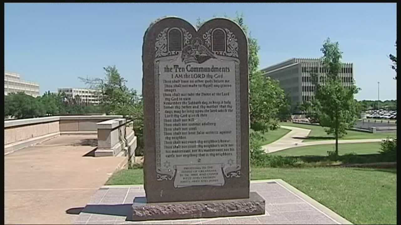 Meeting to decide fate for Ten Commandments Monument at State Capitol