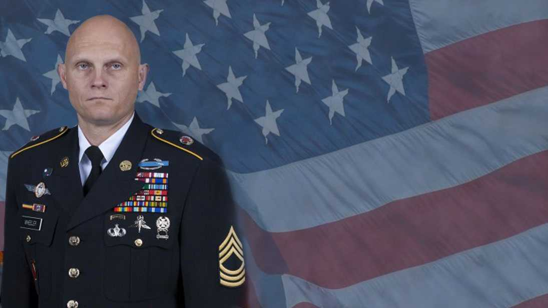 Master Sgt. Joshua L. Wheeler was killed on Oct. 22, 2015 in Iraq during an operation to rescue hostages of Isis. Wheeler was 39 and from Roland, Oklahoma.