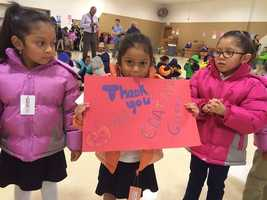 Oklahoma City schoolchildren from low-income families who are in need of jackets got a little warmer Wednesday at the Coat A Kid event throughout the district.