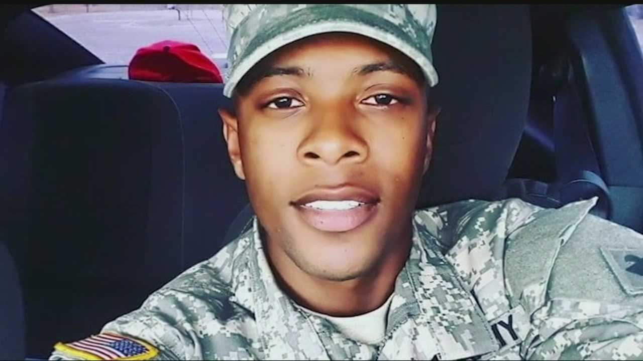 A veteran who spent nine months in Afghanistan and was about to become a sergeant was shot and killed over the weekend. He was shot outside a northwest Oklahoma City bar around 3:30 a.m. Sunday when he was picking up a friend. He was shot by an unknown gunman. Another man was shot that night, too. Anyone with information about the shooting is asked to call police.