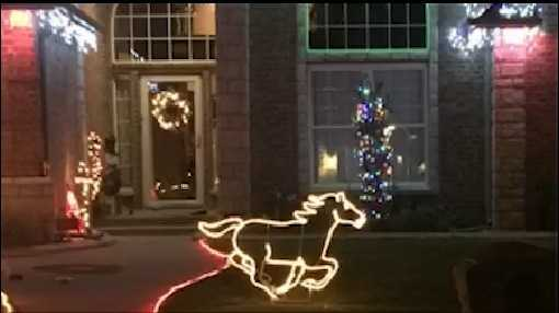 Christmas lights, decorations stolen from Edmond home