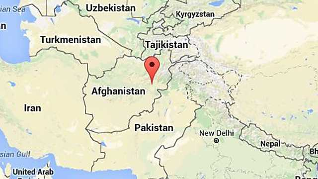 Attack Underway At American University In Afghan Capital - American university map