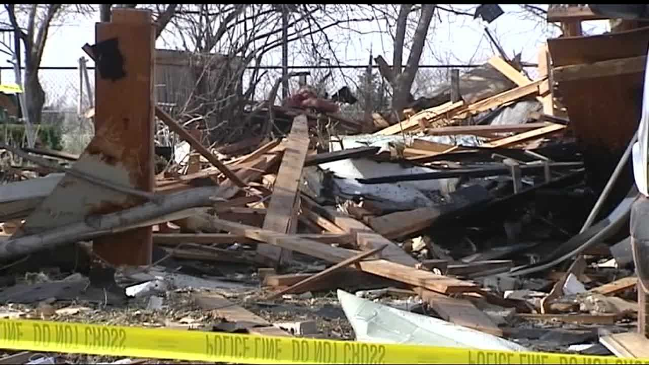 The man inside a home that exploded in Oklahoma City said he is doing OK.