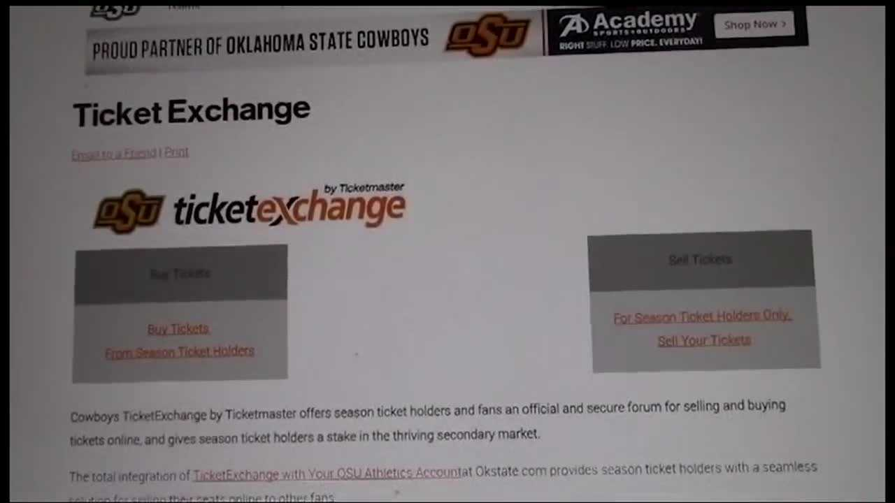 Bogus football tickets were sold to OSU fans and some angry students say someone scammed them out of hundreds of dollars in football tickets. And they want their money back.