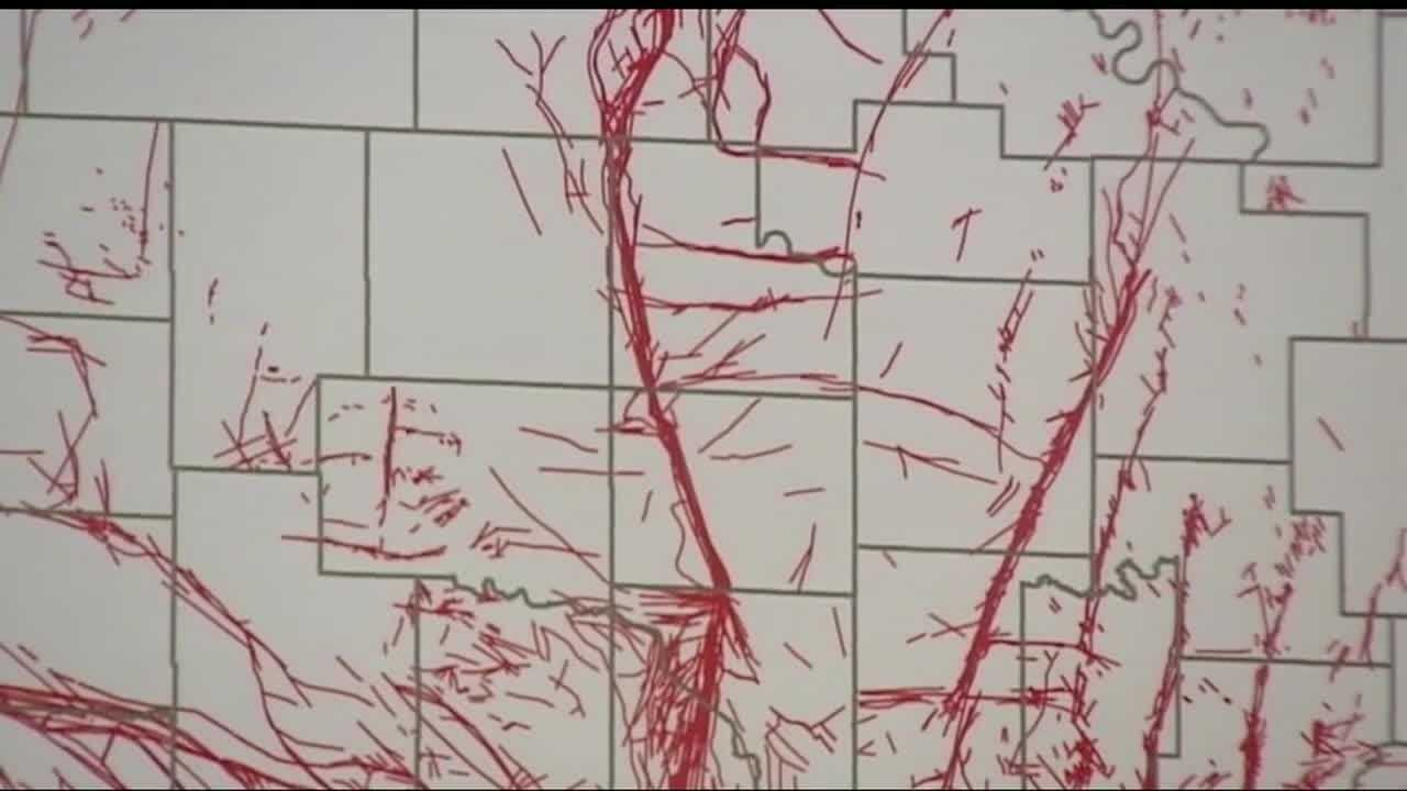 Oklahoma Geological Survey experts say that the recent earthquakes are starting to reveal where new fault lines are developing.