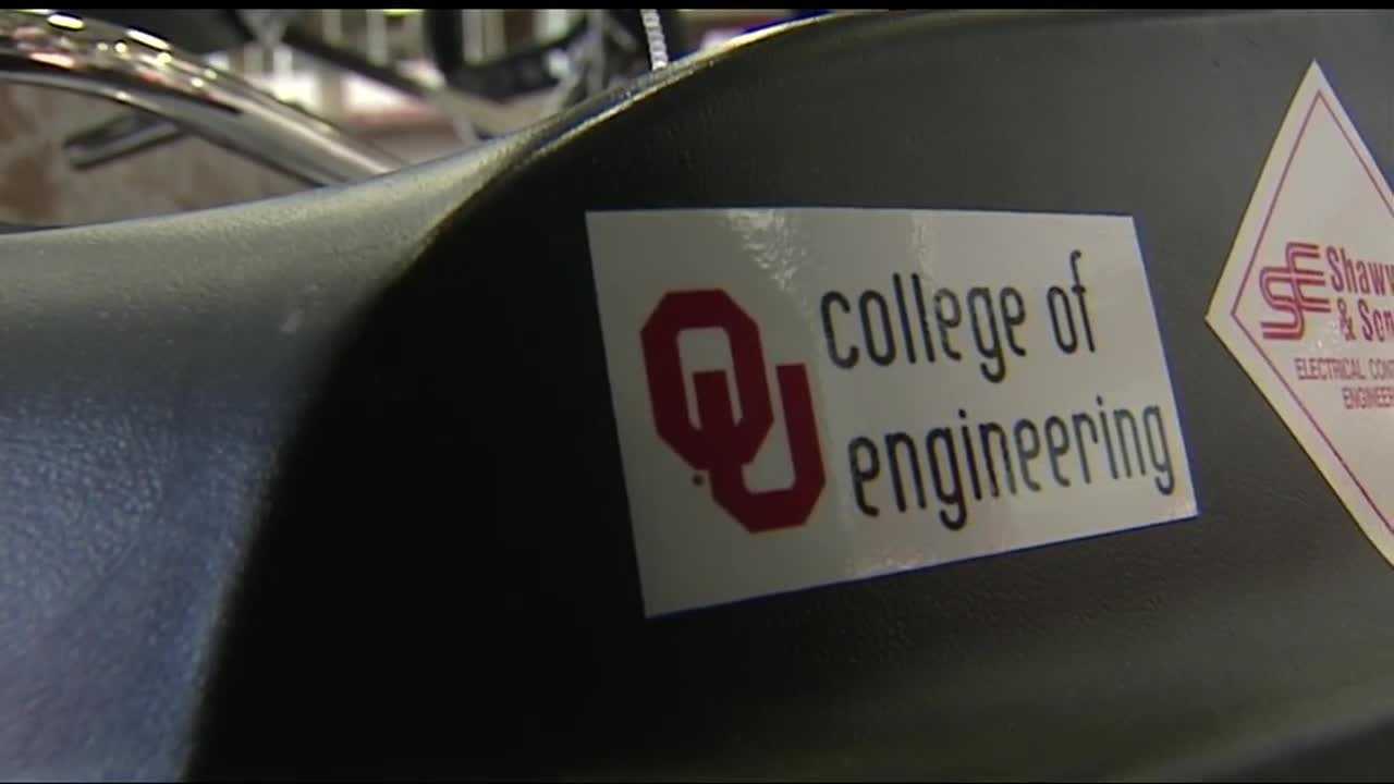 Engineering students at the University of Oklahoma have been using a NASA grant to build a rover that could go to Mars.