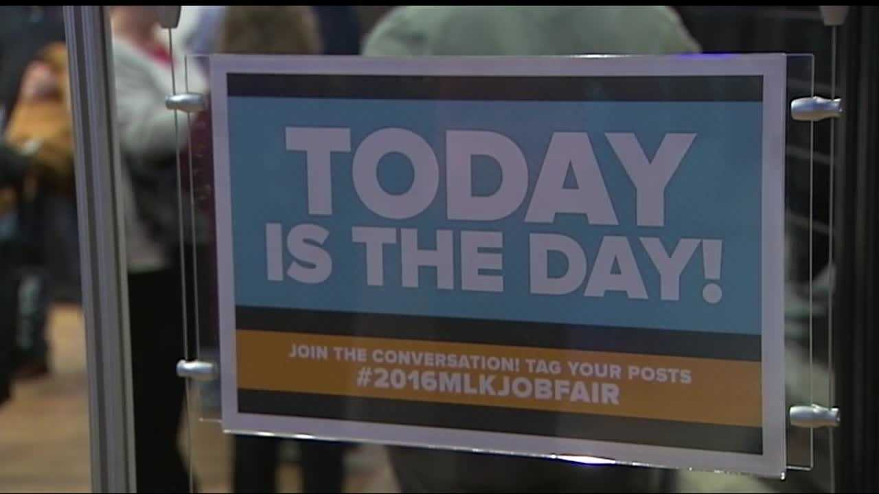 Recently laid off oil and gas employees flocked to a metro job fair Monday in hopes of finding a way to transfer their skills into a new industry.