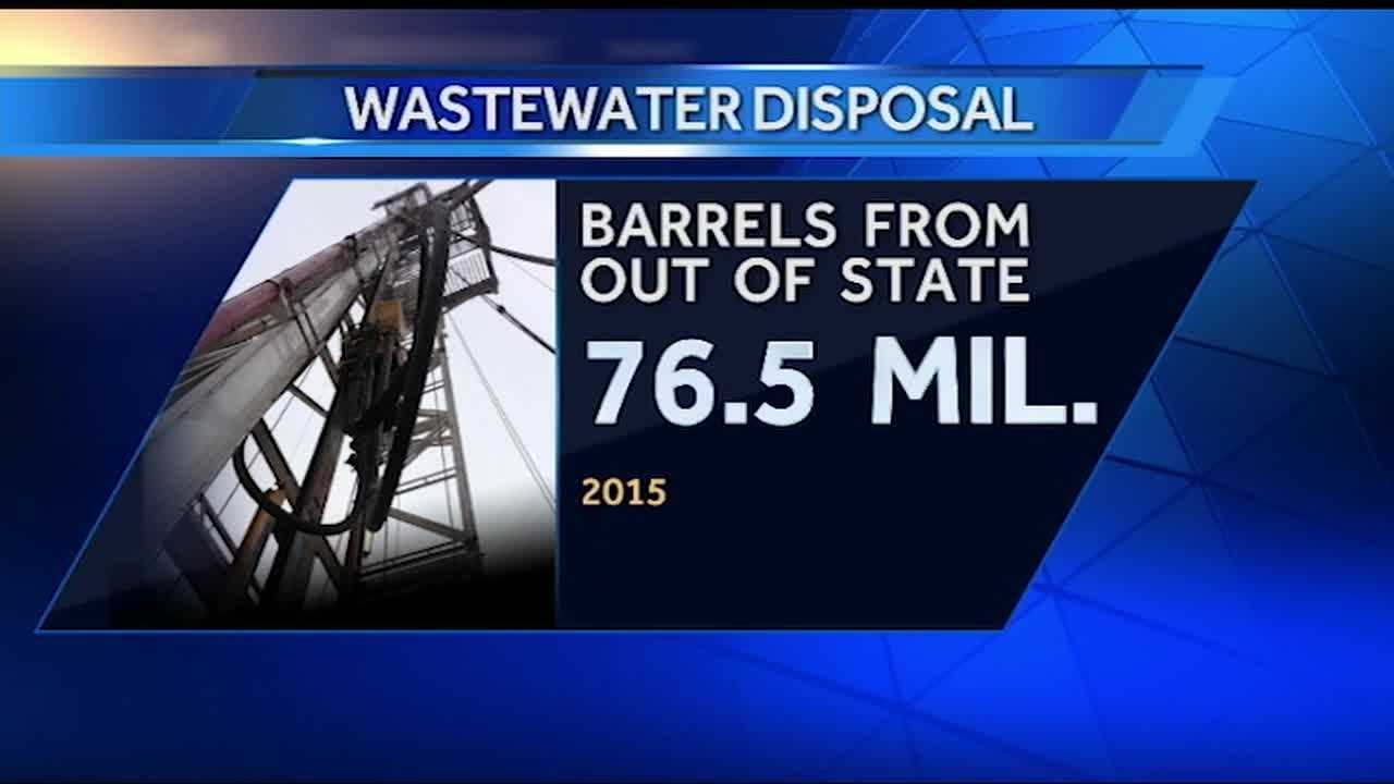 The Oklahoma Corporation Commission is working to cut back on wastewater well operations to try to stop the shaking in the state. But our state is getting unwanted water from other states.