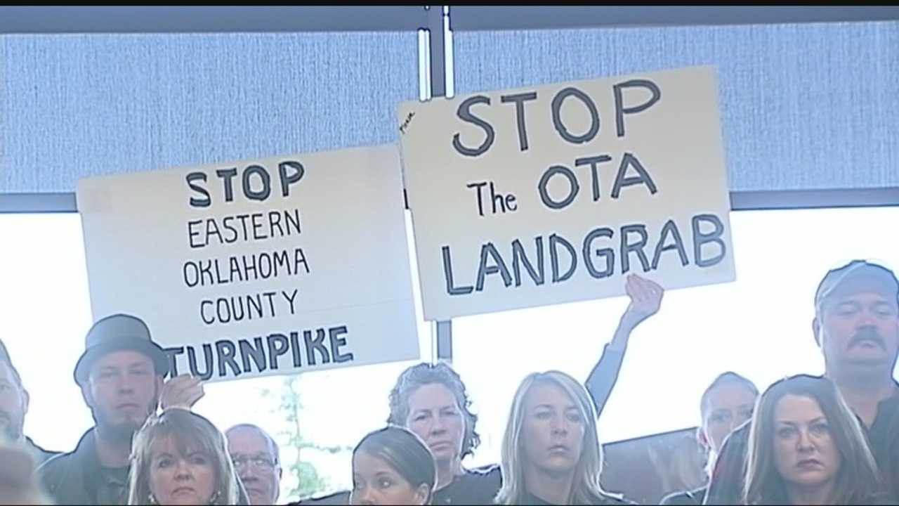 Hundreds of concerned citizens participated in an OTA meeting about the turnpike expansion in eastern Oklahoma County.