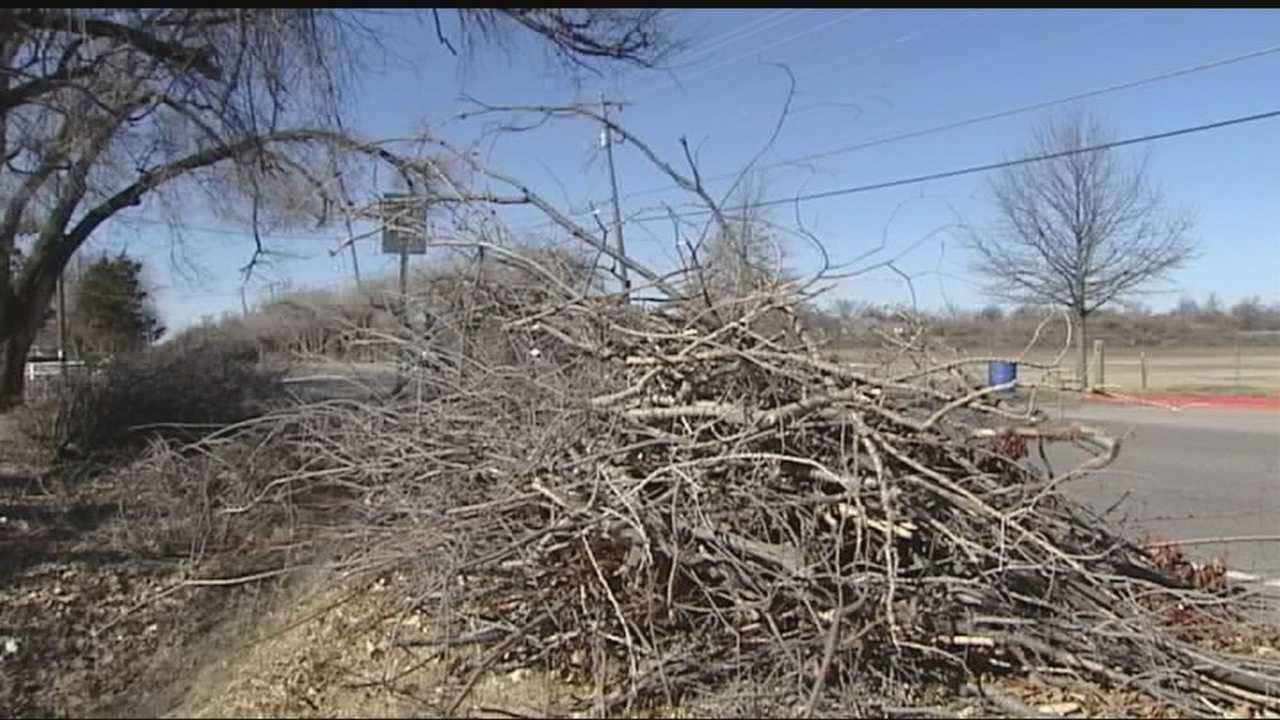 Storm debris cleanup is taking longer than expected in Bethany. That's because the city decided to do it themselves. Residents said they are not happy with the situation.