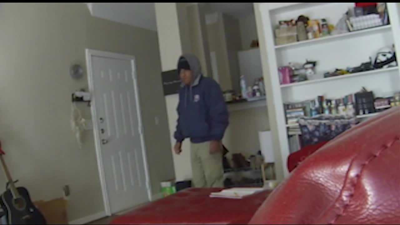Only on 5: An unwanted visitor is seen on camera getting into a woman's home, taking whatever he pleases. The woman and her boyfriend knew things were missing, and finally, something unnoticeable tripped him up. It happened on Memorial near Lake Hefner Parkway.